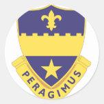 358 Regiment Classic Round Sticker