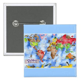 359mlxy 15 cm square badge