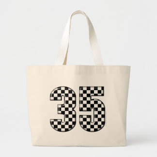 35 auto racing number bag