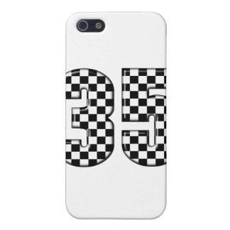 35 auto racing number iPhone 5/5S cover