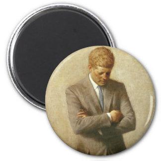 35 John F. Kennedy 6 Cm Round Magnet