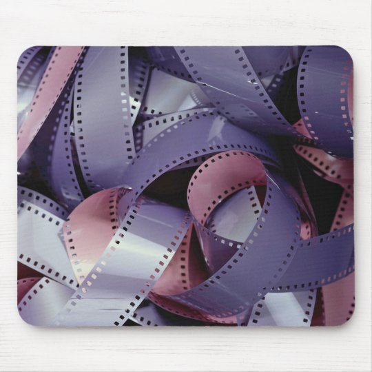 35 mm black and white film mouse mat