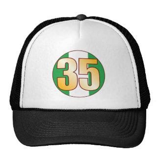 35 NIGERIA Gold Cap