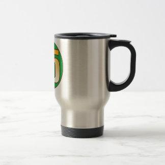 35 NIGERIA Gold Travel Mug
