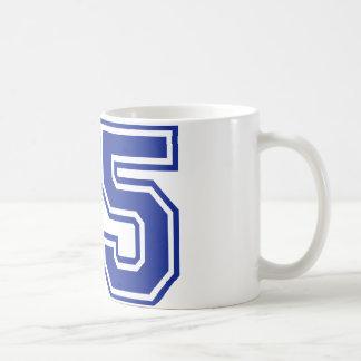 35 - number coffee mug