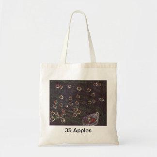 (35 or so apples Bag) Budget Tote Bag