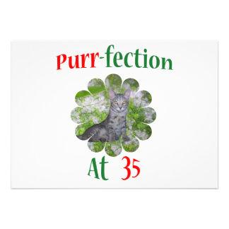 35 Purr-fection Custom Invite