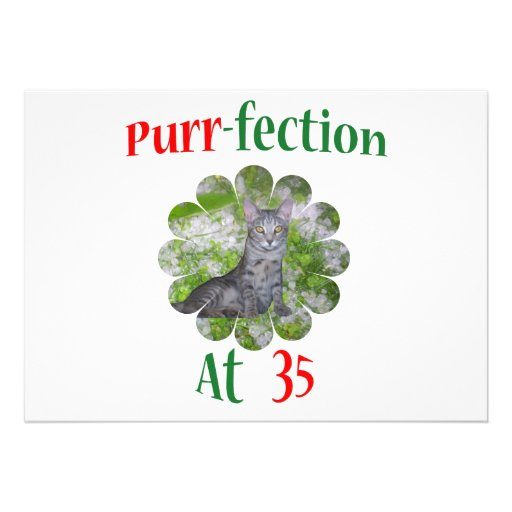 35 Purr-fection Custom Invite