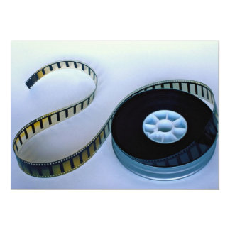 35mm blank film reel card