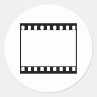 35mm Film Round Sticker