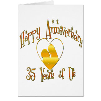 35th. Anniversary Card