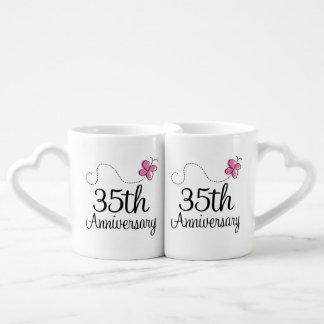 35th Anniversary Couples Mugs Lovers Mug Set