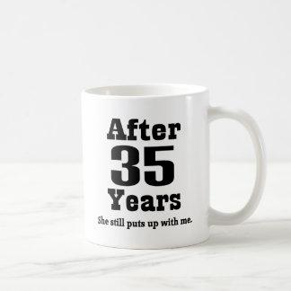 35th Anniversary (Funny) Coffee Mug