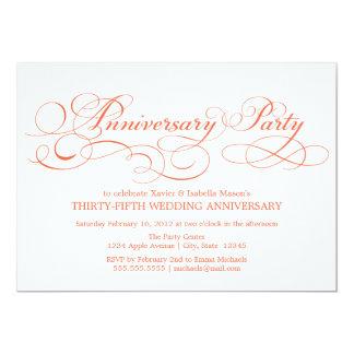 35th Anniversary | Party Invitation