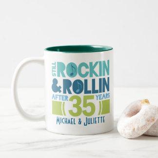 35th Anniversary Personalized Mug Gift