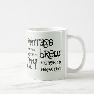 35th Birthday 1979 Vintage Brew or Any Year V35A Coffee Mug
