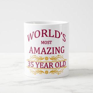 35th. Birthday Jumbo Mug