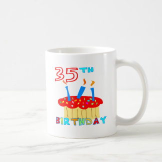 35th Birthday Basic White Mug