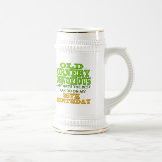 35th Birthday T-shirts and Gifts Beer Stein