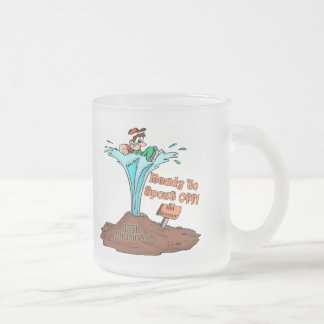 35th Birthday T-shirts and Gifts Frosted Glass Mug
