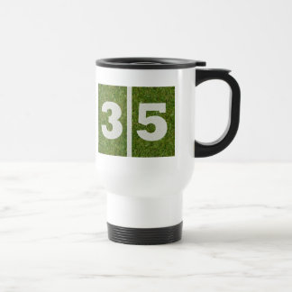35th Birthday Yard Football Mug