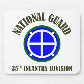 35th Infantry Div | National Guard Mouse Pad