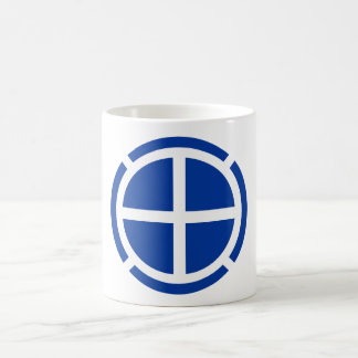 35th Infantry Division Insignia Basic White Mug
