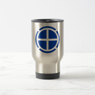 35th Infantry Division Insignia Stainless Steel Travel Mug