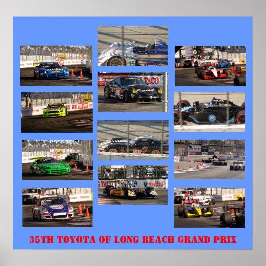 35th TOYOTA of Long Beach Grand Prix Poster