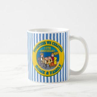 35th Wedding Anniversary Gifts Coffee Mugs