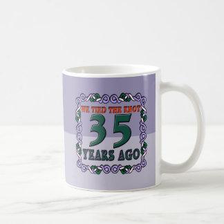 35th Wedding Anniversary Gifts Mugs