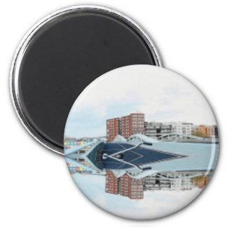 360 Degrees of Amsterdam Fridge Magnets