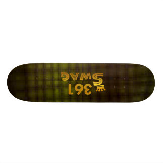 361 Area Code Swag Skate Deck