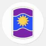 361 Civil Affairs Brigade Patch Classic Round Sticker