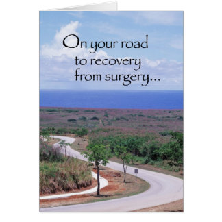 3646 Road to Recovery after Surgery Card