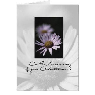 3655 Anniversary of Ordination Greeting Card