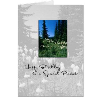 3656 Birthday Priest Landscape Card