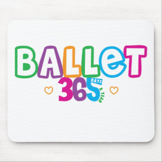 365 Ballet Mouse Mat
