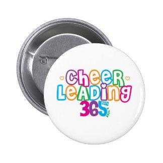 365 Cheerleading 6 Cm Round Badge