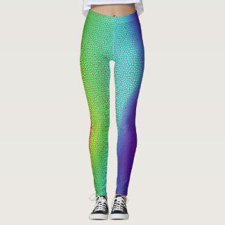 365 Days of Yoga. Day 17. Mermaids. Rainbows.Yoga. Leggings