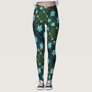 365 Days of Yoga. Day 58. #Spring with Frozen Leaf Leggings