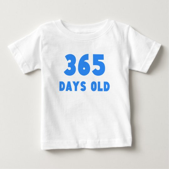 365 Days Old Baby T-Shirt