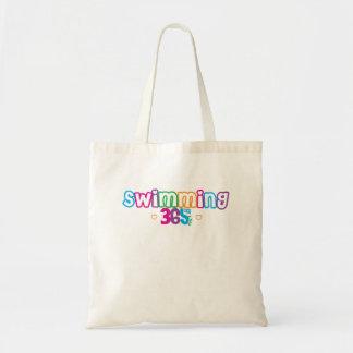 365 Swimming Tote Bag