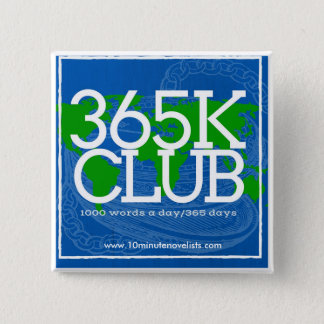 365K Pin! 15 Cm Square Badge