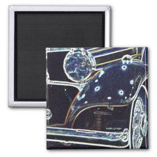 '36 Benz 2' Fridge Magnets