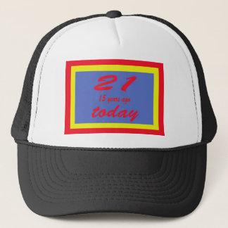 36 birthday trucker hat