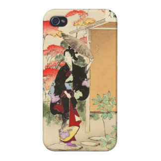 36 Examples of Beauties Tea ceremony Toshikata iPhone 4 Cover