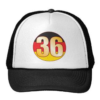 36 GERMANY Gold Cap