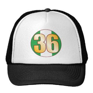 36 NIGERIA Gold Cap