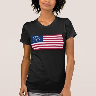 36 Star Wagon Wheel US Flag Shirt